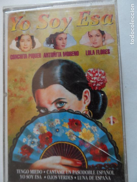 CONCHITA PIQUER , ANTOÑITA MORENO , LOLA FLORES YO SOY ESA - 1 CASSETTE- (Música - Casetes)