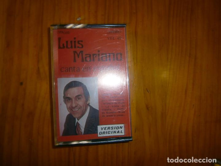 LUIS MARIANO (Música - Casetes)