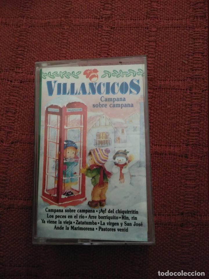 Imagenes De Villancicos Campana Sobre Campana.Casete Villancicos Campana Sobre Campanas