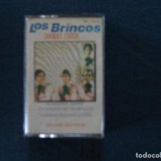 Casetes antiguos: LOS BRINCOS. Lote 115403123
