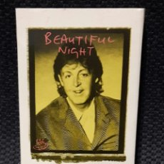 Casetes antiguos: PAUL MCCARTNEY - BEATLES - BEAUTIFUL NIGHT- CASSETTE SINGLE- REINO UNIDO- EXCELENTE- 1997. Lote 115490403