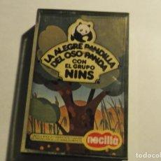 Casetes antiguos: LA ALEGRE PANDILLA DEL OSO PANDA CON EL GRUPO NINS-NOCILLA. Lote 115515195