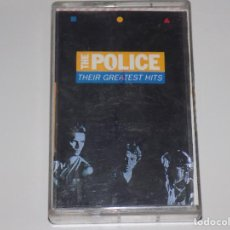 Casetes antiguos: THE POLICE - THEIR GREATEST HIT. Lote 115609367