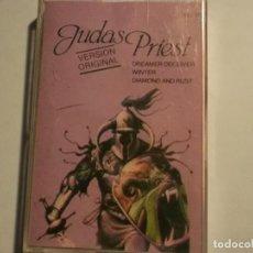 Casetes antiguos: JUDAS PRIEST-HERO,HERO-VERSION ORIGINAL. Lote 115703775