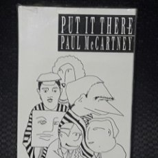 Casetes antiguos: PAUL MCCARTNEY - BEATLES - PUT IT THERE - CASSETTE SINGLE- USA - EXCELENTE- 1990. Lote 115711963