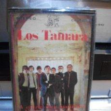 Casetes antiguos: LOS TAMARA A SANTIAGO VOY CASSETTE SPAIN 1977 PDELUXE. Lote 115923527