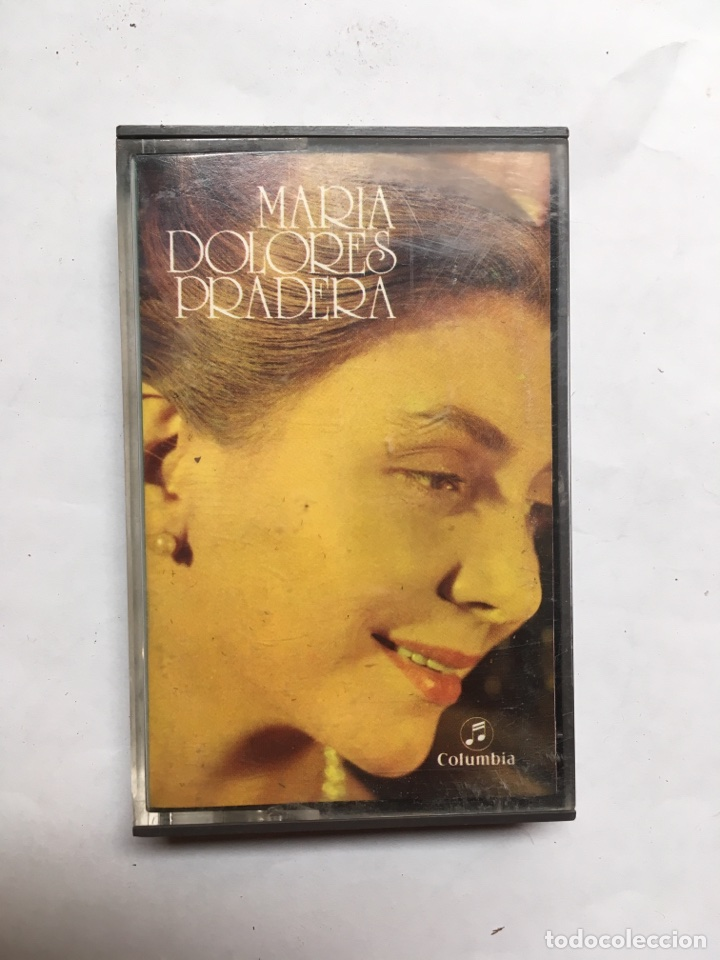 CONTA CASSETTE MARÍA DOLORES PRADERA - SERIE VARIEDADES (Música - Casetes)