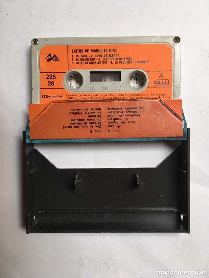 Casetes antiguos: Cinta cassette Éxitos de Marujita Díaz vol.2 - Foto 2 - 116178356