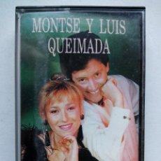 Casetes antiguos: MONTSE Y LUIS QUEIMADA. CASETE EDIGAL EDC 25036. ESPAÑA 1992. GALICIA.. Lote 116715375