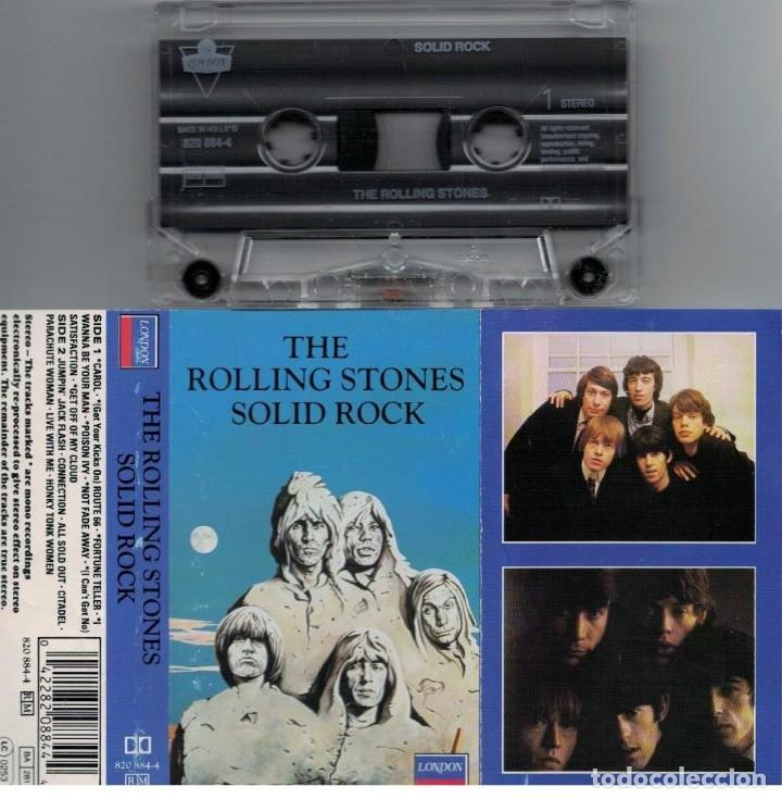 THE ROLLING STONES-CASETE SOLID ROCK (Música - Casetes)