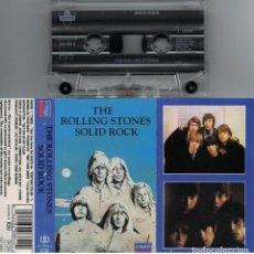 Casetes antiguos: THE ROLLING STONES-CASETE SOLID ROCK. Lote 117304171