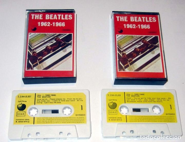 Casetes antiguos: THE BEATLES VOLUMEN 1 -- 1962-1967 - Foto 3 - 117340143