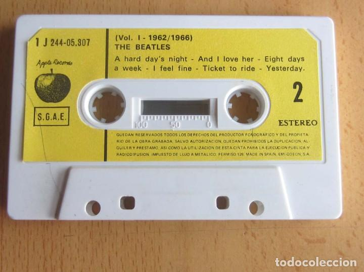 Casetes antiguos: THE BEATLES VOLUMEN 1 -- 1962-1967 - Foto 5 - 117340143
