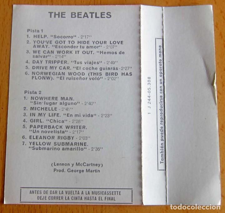 Casetes antiguos: THE BEATLES VOLUMEN 1 -- 1962-1967 - Foto 8 - 117340143