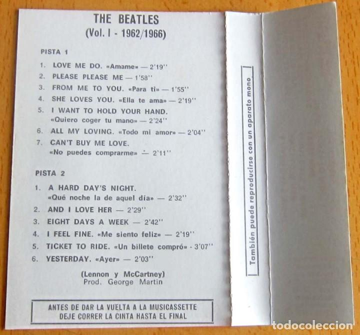 Casetes antiguos: THE BEATLES VOLUMEN 1 -- 1962-1967 - Foto 9 - 117340143