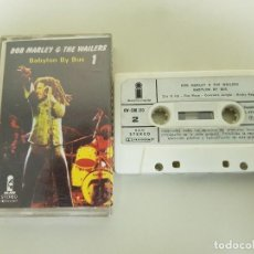 Casetes antiguos: 1018- BOB MARLEY & THE WAILERS BABYLON BY BUS XW 500 150/1978 EDIC SPAIN CASSETTE. Lote 117634199