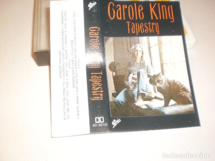 CASETE, CASSETTE, CINTA CAROLE KING TAPESTRY EPIC 1982 SPAIN (Música - Casetes)