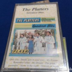 Casetes antiguos: CASSETTE THE PLATTERS ( GREATEST HITS ) PRECINTADA . Lote 125848203