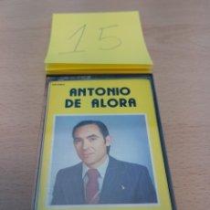 Casetes antiguos: ANTONIO DE ALORA - MALAGA DE MIS AMORES - FONODIS - 1983. Lote 118435512