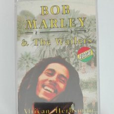 Casetes antiguos: BOB MARLEY & THE WAILERS AFRICAN HERBSMAN CASETE 1992 EXIT RECORDS. Lote 118580039