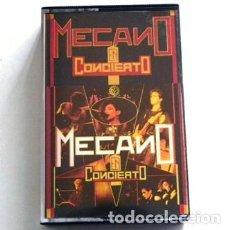 Casetes antiguos: MECANO EN CONCIERTO - CASETE - GRUPO ESPAÑOL DE MÚSICA POP AÑOS 80 - ANA TORROJA - CANO ESPAÑA 1985. Lote 118619267