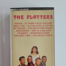 Casetes antiguos: THE PLATTERS CASETE 1981 PALOBAL . Lote 118734999