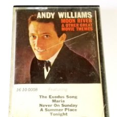 Casetes antiguos: CASETE - ANDY WILLIAMS; MOON RIVER / CBS . Lote 118922931