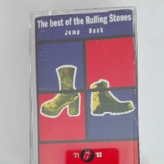 Casetes antiguos: THE BEST OF THE ROLLING STONES JUMP BACK '71 '93 CASETE VIRGIN. Lote 119034871