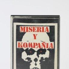 Casetes antiguos: CINTA DE CASETE / CASSETTE - MISERIA Y KOMPAÑIA / Y EN UN MAL DIA - ILLA RECORDS - PUNK - AÑO 1989. Lote 119105546