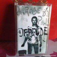 Casetes antiguos: JARABE DE PALO - DEPENDE (POP ROCK) / ALBUM CASSETTE 1998 VIRGIN. NM-NM. Lote 119137155
