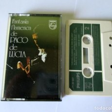 Casetes antiguos: PACO DE LUCIA - FANTASIA FLAMENCA DE - CASSETTE 10 TEMAS - PHILIPS 1971 SPAIN 71 23 027. Lote 119139819