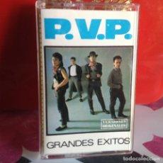 Casetes antiguos: P.V.P. - GRANDES EXITOS (PUNK NEW WAVE) / RARISIMO ALBUM CASSETTE 3 CIPRESES 1987. NM-NM. Lote 119140395