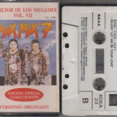 Casetes antiguos: MAX MIX 7 CASSETTE LO MEJOR DE LOS MEGAMIX VOL. VII 1989. Lote 119141567
