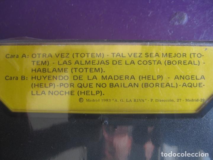 Casetes antiguos: LAS JOVENES ESTRELLAS DEL POP CASETE HACHE FUSION - TOTEM - BOREAL - HELP - PRECINTADA - MUY RARA - Foto 2 - 120039183