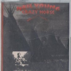 Casetes antiguos: NEIL YOUNG WITH CRAZY HORSE. BROKEN ARROW - CASETE - REPRISE/WARNER 1991 - ED. ALEMANA. PRECINTADA.. Lote 120266991