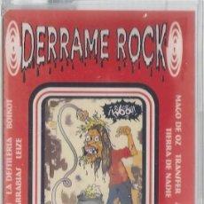 Casetes antiguos: DERRAME ROCK - CASETE - SANTO GRIAL RECORDS 1998 - ED. ESPAÑOLA. PRECINTADA.. Lote 120267195