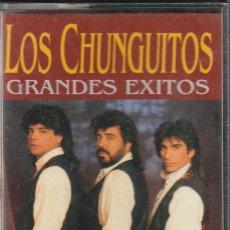 Casetes antiguos: LOS CHUNGUITOS - GRANDES EXITOS (CASSETTE HORUS 2000). Lote 120535483