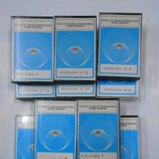 Casetes antiguos: LOTE DE 11 CASETES DE ASTROLOGIA. INSTITUTO DE CIENCIAS PARAPSICOLOGICAS HISPANO AMERICANO. TDKV17. Lote 120549659