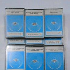Casetes antiguos: LOTE DE 12 CASETES DE ASTRONOMIA. INSTITUTO DE CIENCIAS PARAPSICOLOGICAS HISPANO AMERICANO. TDKV17. Lote 120549895