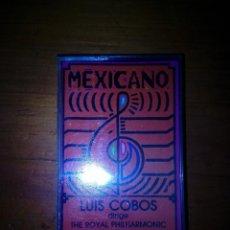 Casetes antiguos: MEXICANO. LUIS COBOS. C4F. Lote 121302207