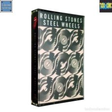 Casetes antiguos: STEEL WHEELS / THE ROLLING STONES / CINTA CASETE CASSETTE / CBS 1989 (DOLBY SYSTEM). Lote 121329975