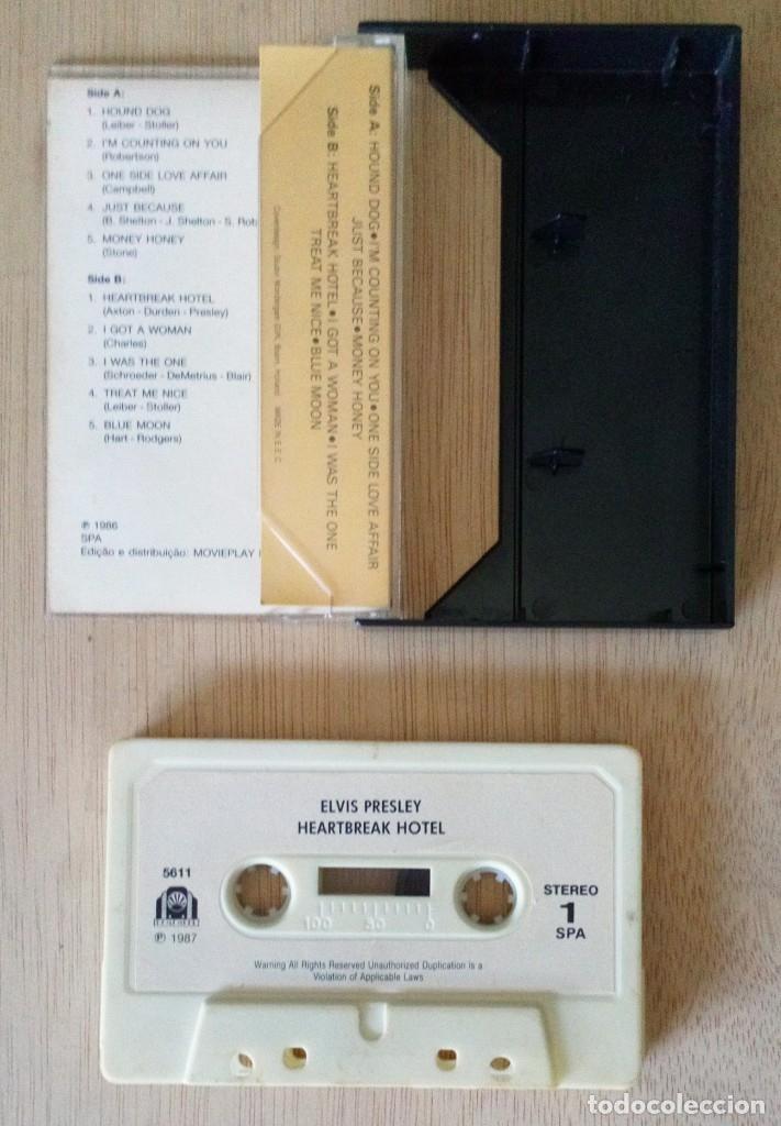 Casetes antiguos: Heartbreak Hotel / Elvis Presley / Cinta Casete Cassette / Movieplay SPA 1987 (Stereo) - Foto 2 - 121426699