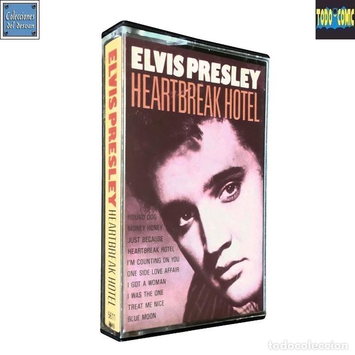 HEARTBREAK HOTEL / ELVIS PRESLEY / CINTA CASETE CASSETTE / MOVIEPLAY SPA 1987 (STEREO) (Música - Casetes)