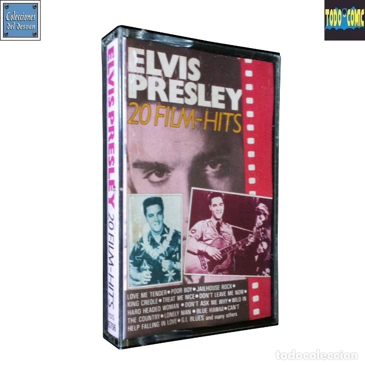 Casetes antiguos: 20 Film Hits / Elvis Presley / Cinta Casete Cassette / Movieplay SPA 1987 (Stereo) - Foto 1 - 121434567
