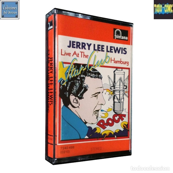 LIVE AT THE STAR CLUB HAMBURG / JERRY LEE LEWIS / CINTA CASETE CASSETTE (STEREO) (Música - Casetes)