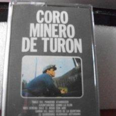 Casetes antiguos: CORO MINERO DE TURON . DIRECTOR : LUIS GARCIA MONTOTO ASTURIAS CASSETTE 1973. Lote 121665451