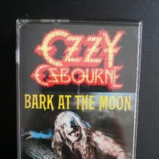 Casetes antiguos: OZZY OSBOURNE- BARK AT THE MOON _ MA. Lote 122742595