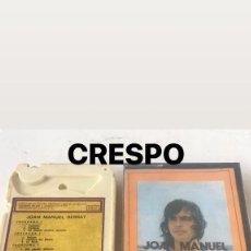 Casetes antiguos: JOAN MANUEL SERRAT, CANCIONES DE MACHADO 1973 ESTÉREO 8 ZAFIRO. . Lote 123254479