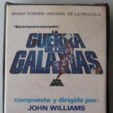 Casetes antiguos: LA GUERRA DE LAS GALAXIAS (DOBLE CASSETTE CON CAJA 20TH CENTURY RECORDS 1977 ESPAÑA) STAR WARS. Lote 124403111