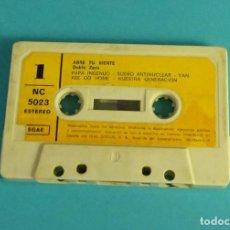 Cassette antiche: DOBLE ZERO. ABRE TU MENTE. 1978. Lote 124451195